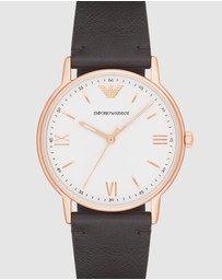 Emporio Armani - Brown Men's Analogue Watch