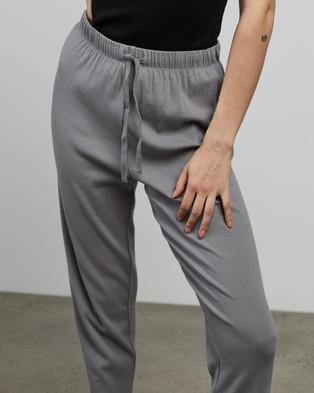 Jac + Jack Nic Pants - Pants (Mid Grey)
