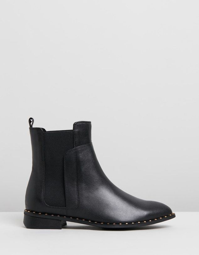 5cb8fce0 Max Leather Ankle Boots by Walnut Melbourne Online | THE ...