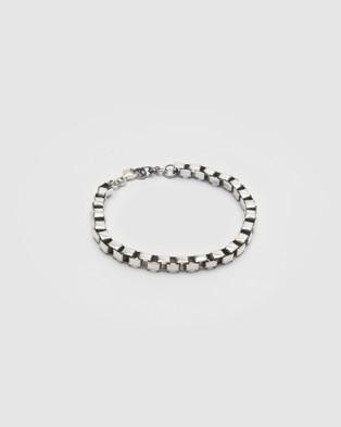 Buck Palmer - Box Chain Bracelet Jewellery (POLISHED)