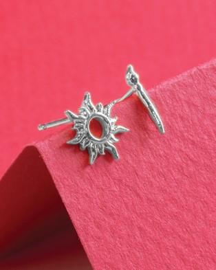 Short Story Disney Earring Tangled Star & Paintbrush - Jewellery (Silver)