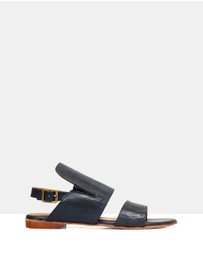 Sempre Di - Sloane Leather Sandals