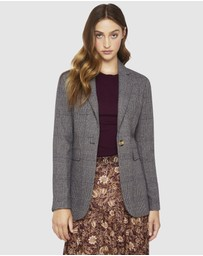 Oxford - Lola Check Blazer
