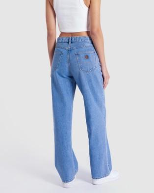 Abrand A Slouch Jeans - High-Waisted (Georgia)