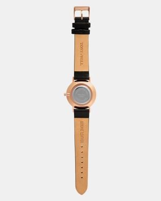 TONY+WILL Jewel - Watches (ROSE GOLD / BLACK / BLACK)