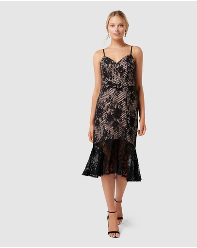 Forever New - Erika Belted Lace Dress