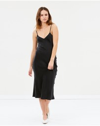 Silk Laundry - Classic 90's Silk Slip Dress