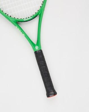Wilson Blade Feel Pro 105 Tennis Racket - Sports Equipment (Green)