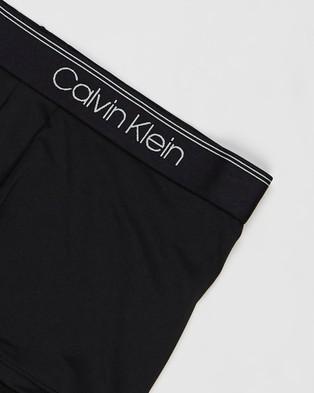 Calvin Klein Low Rise Trunks   3 Pack - Trunks (Black)