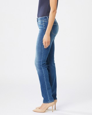 Jeanswest Slim Straight Jeans Lake Blue - Jeans (Lake Blue)