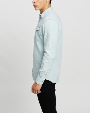 Jack & Jones Denim LS Shirt - Casual shirts (Light Blue Denim)
