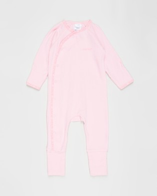 Bonds Baby - The Essentials Pack Babies Longsleeve Rompers (Fairy Floss)
