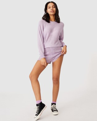 Cotton On Match Me Pullover - Jumpers & Cardigans (Frosty Lilac)
