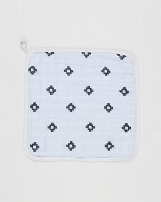 Aden & Anais Lovestruck 3 Pack Washcloths   Babies - Bibs (Lovestruck)