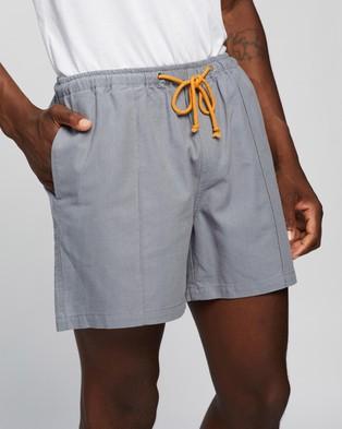 Locale Rugby Boardwalk Shorts - Shorts (Blue)