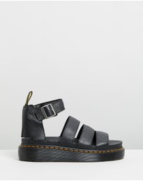 Dr Martens - Womens Clarissa II Quad Leather Platform Sandals