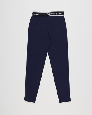 Champion Script Tights Teens Full Navy