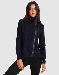 Belle & Bloom - Brother's Zip Front Jumper