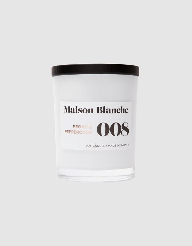 Life 008 Peony & Peppercorn - Medium Candle