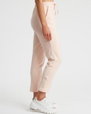 Calli Basic Jogger Pants - Sweatpants (Dusty Pink)