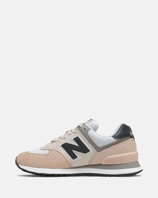 New Balance 574 Standard Fit Women's Performance Shoes Rosewater