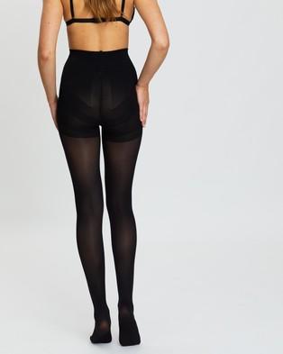 The Legwear Company 2 Pack 50 Denier Eco Support Tights - Full Length (Black)