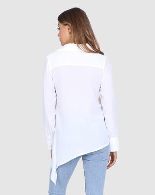 Madison The Label Roza Shirt - Tops (White)