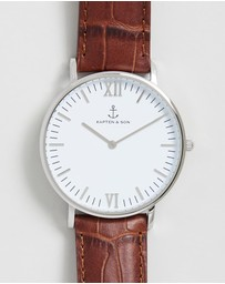 Kapten & Son - Campus 40mm Croc Leather