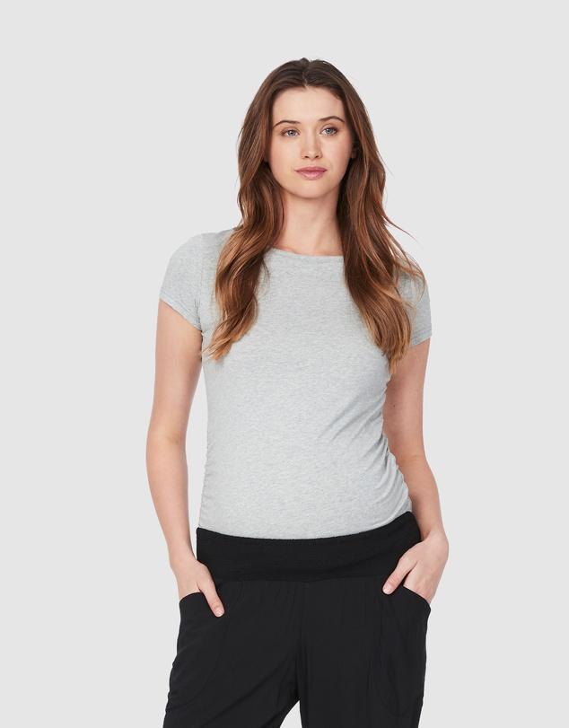 Women Classic Cotton Maternity T-Shirt Multi Pack
