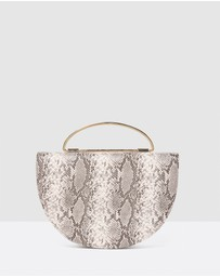 Forever New - Rebecca Half Moon Saddle Bag