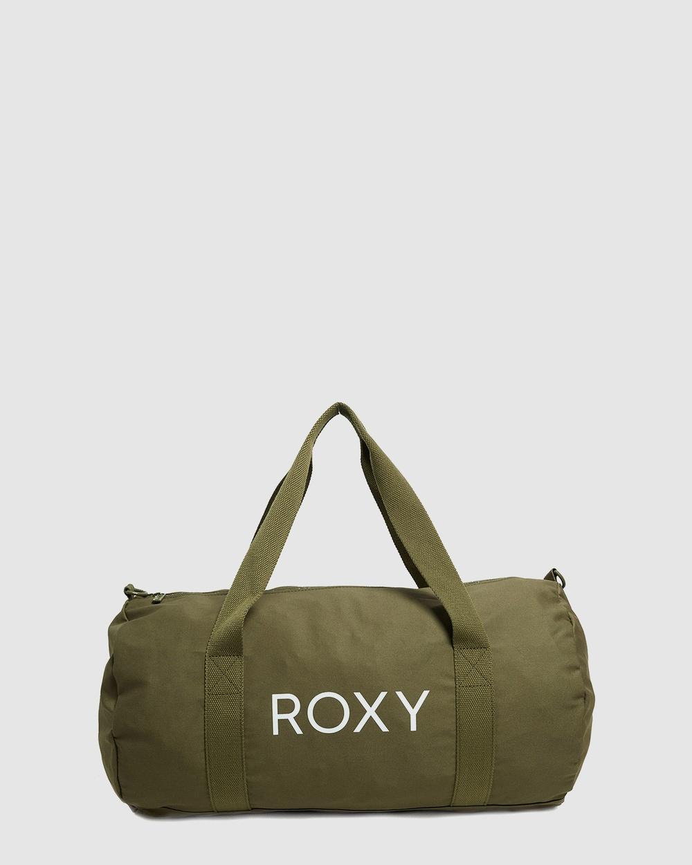 Roxy Womens Vitamin Sea Medium Shoulder Bag Bags Fatigue Green