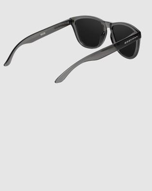 Hawkers Co Crystal Black Dark ONE - Sunglasses (Grey)