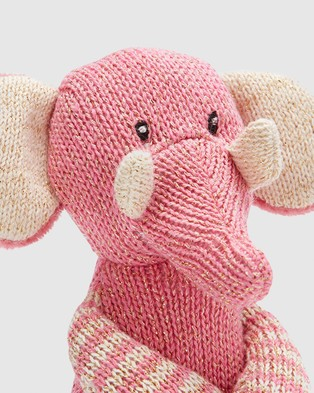 Nana Huchy ICONIC EXCLUSIVE   Ellie The Elephant Rattle - Accessories (Pink)