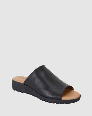 Sandler Fate - Wedges (BLACK)