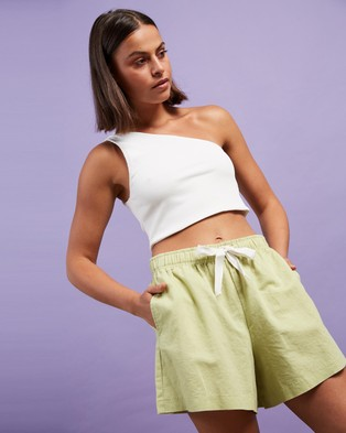Nude Lucy Nude Classic Shorts - Shorts (Celery)