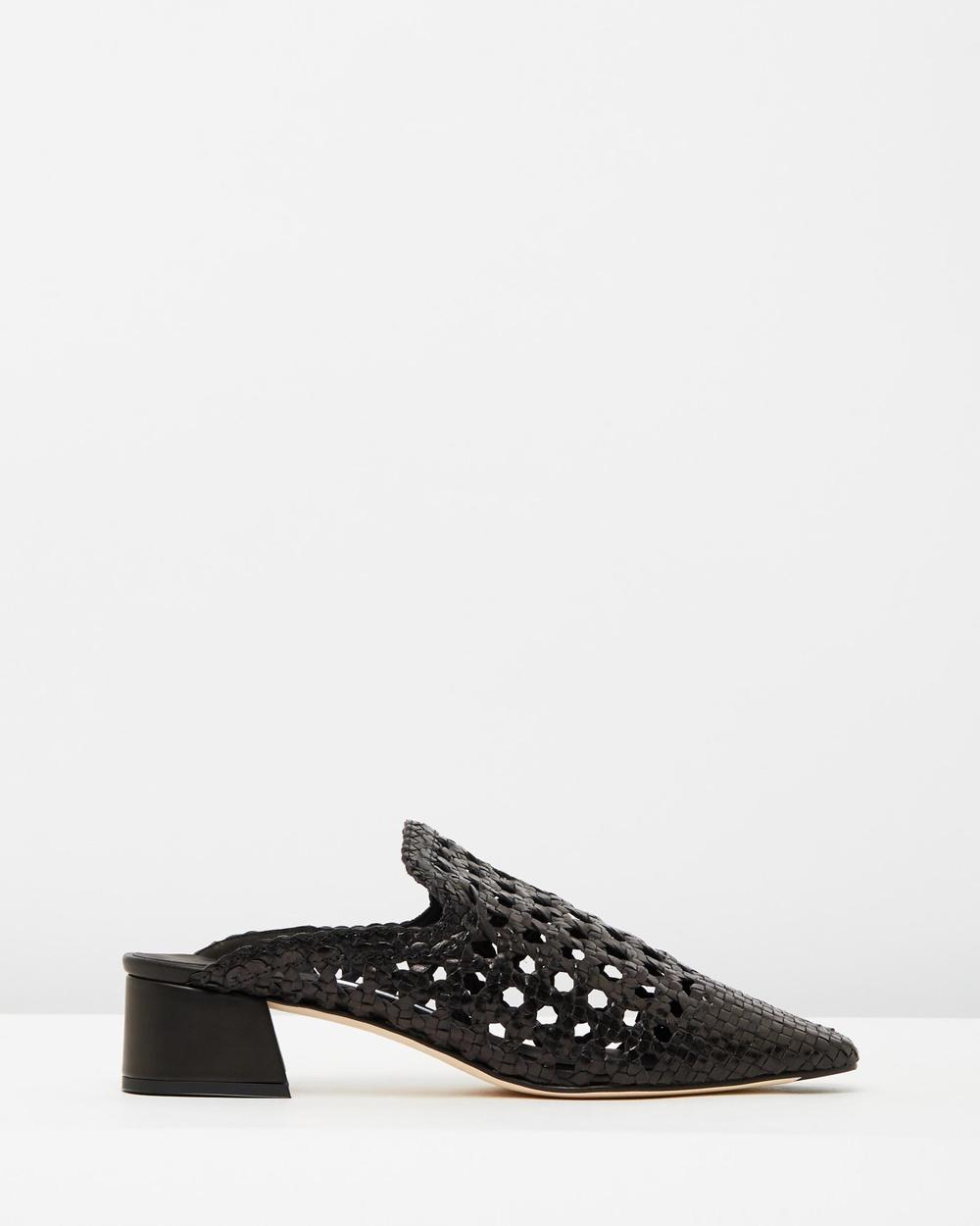 Miista Ida Mid-low heels Black Ida