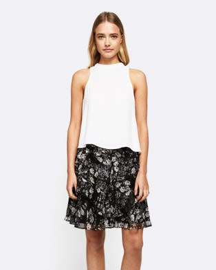 MVN – Say You Will Be There Skirt Floral