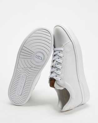 Coach Lowline Luxe Low Top - Sneakers (White)