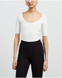 Simon Miller - Vista Scoop Neck Top