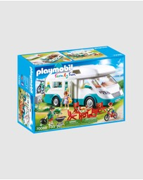 Playmobil - Family Camper - Kids