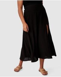 Cotton On Curve - Alana Split Maxi Skirt