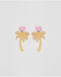 HAUS OF DIZZY - Miami Palms Earrings