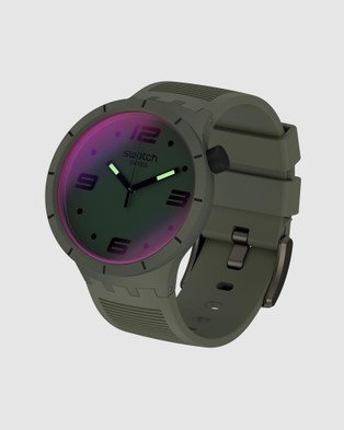 Swatch FUTURISTIC GREEN - Watches (Green)