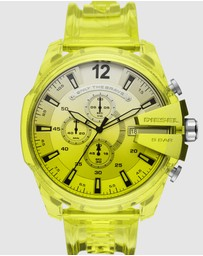 Diesel - Mega Chief Yellow Chronograph Watch DZ4532