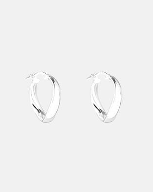 Najo Eddy Hoops - Jewellery (Silver)