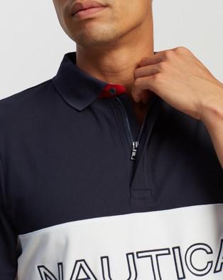 NAUTICA Chest Logo Polo - Shirts & Polos (Navy)