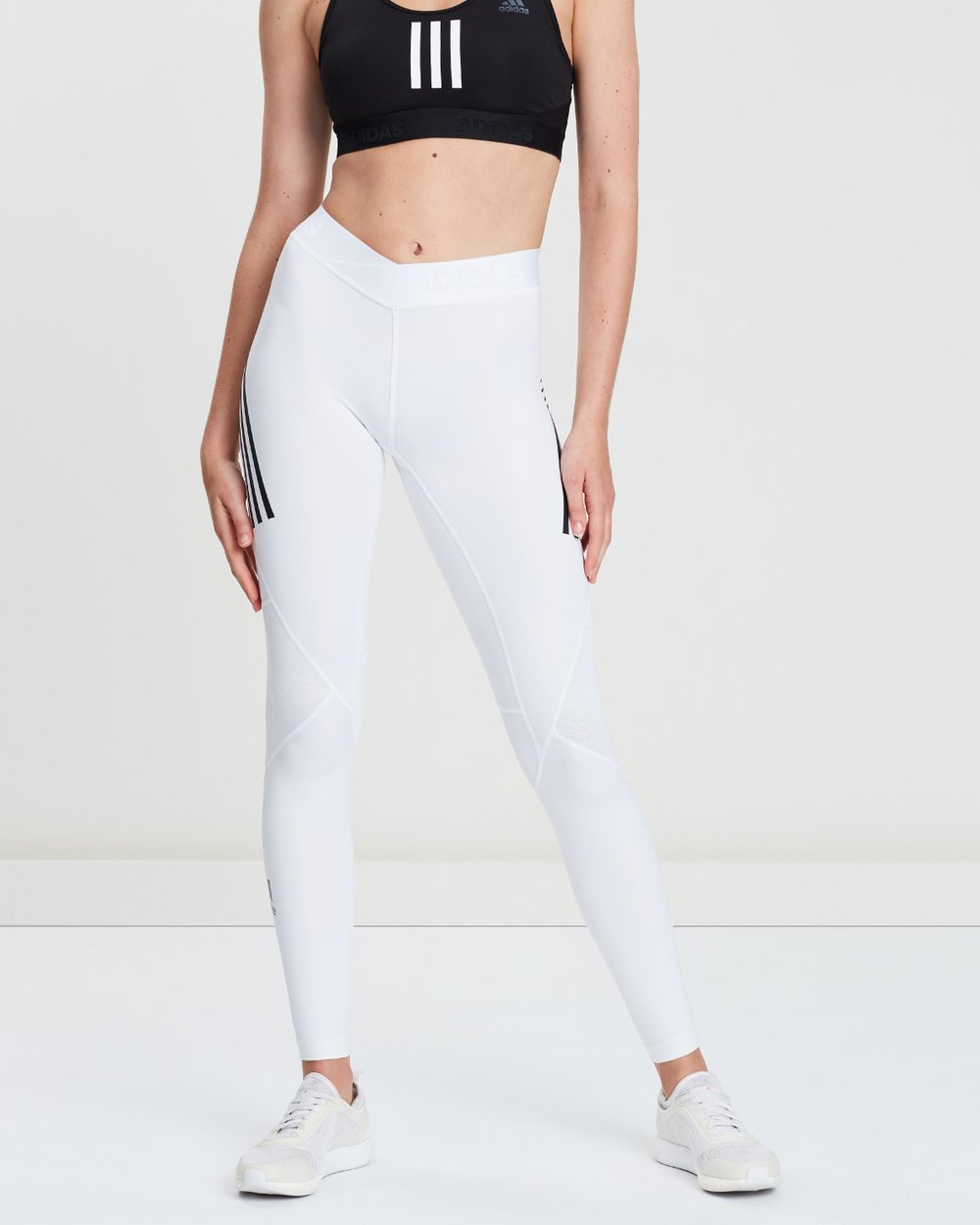 56f6d1a5c0417 Alphaskin Sport 3-Stripes Long Tights by adidas Performance Online | THE  ICONIC | Australia
