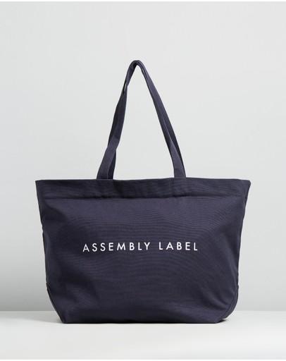 Assembly Label Weekender Bag True Navy