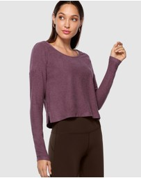 Lorna Jane - Mist Active Long Sleeve Top