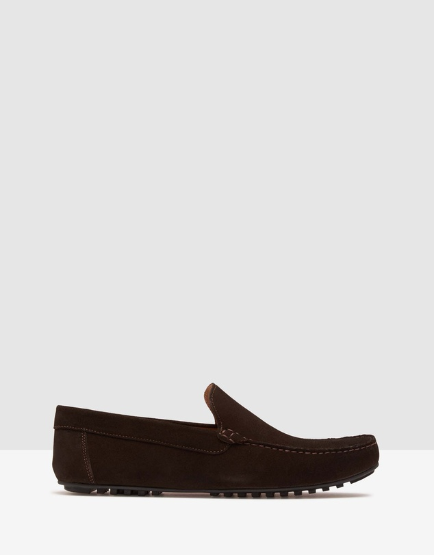 Gunner Suede Slip On Shoes by Oxford